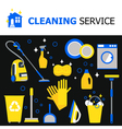 Cleaning Equipment Collection vector image