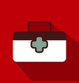 first aid icon in trendy flat style isolated on vector image vector image