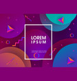 modern abstract geometrical background vector image vector image