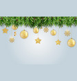 new year and merry christmas background vector image vector image