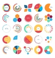 Infographics collection of design elements vector image