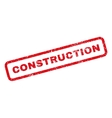 Construction Rubber Stamp vector image vector image