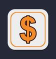 dollar money currency vector image