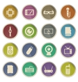 Gadgets simply icons vector image vector image