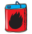 gasoline can vector image