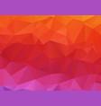 geometric orange pink texture background vector image vector image