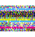 glitch background signal error pixel mosaic vector image