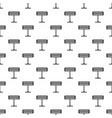 home heater stand pattern seamless vector image vector image