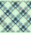 seamless plaid background vector image vector image