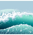 Wave front vector image vector image