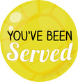 Youve Been Served vector image vector image