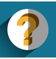 Question symbol icon vector image
