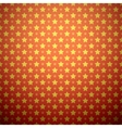 Abstract star pattern wallpaper vector image vector image