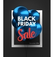 Black Friday Sale concept background vector image vector image