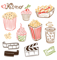Cinema design elements vector image vector image