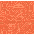 Computer circuit board Seamless pattern vector image vector image