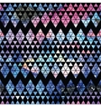Galaxy seamless pattern vector image