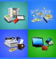 payment methods realistic design concept vector image