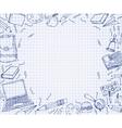 School Test Book 03 A vector image vector image