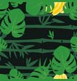 tropical forest pattern vector image vector image