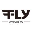 flying aviation vector image