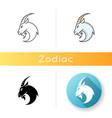 capricorn zodiac sign icon