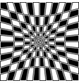 checkered pattern with distortion effect opposite vector image vector image