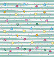 chic pattern background vector image