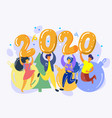 for new year 2020 vector image