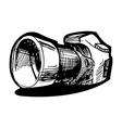 reflex camera vector image vector image