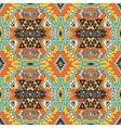 Seamless aztec pattern Ethnic background vector image vector image