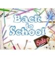 School marketing background EPS 10 vector image