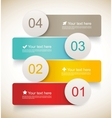 Set of infographic banners vector image