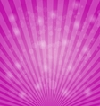 Abstract bokeh on pink background vector image vector image