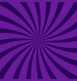 abstract swirling radial dark purple pattern vector image
