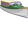 boat a vector image vector image