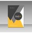 Brochure Design Layout template vector image