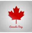 Design a banner for Canada Day 1 st of July vector image vector image