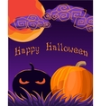 Halloween Greetings vector image vector image