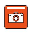 photography camera social media vector image vector image