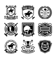Polo Badges vector image vector image