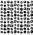 square hand drawn seamless pattern vector image