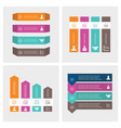 step infographics design vector image