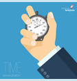 time management abstract vector image