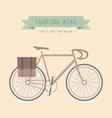 10touringbike vector image