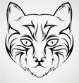 Cat Face Tattoo Design