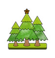 christmas related icon image vector image vector image