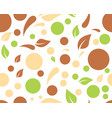 eco nature leaf background vector image vector image