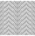 hand drawn pattern zigzag and stripe vector image vector image