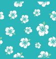hawaii flowers texture make your pattern vector image vector image